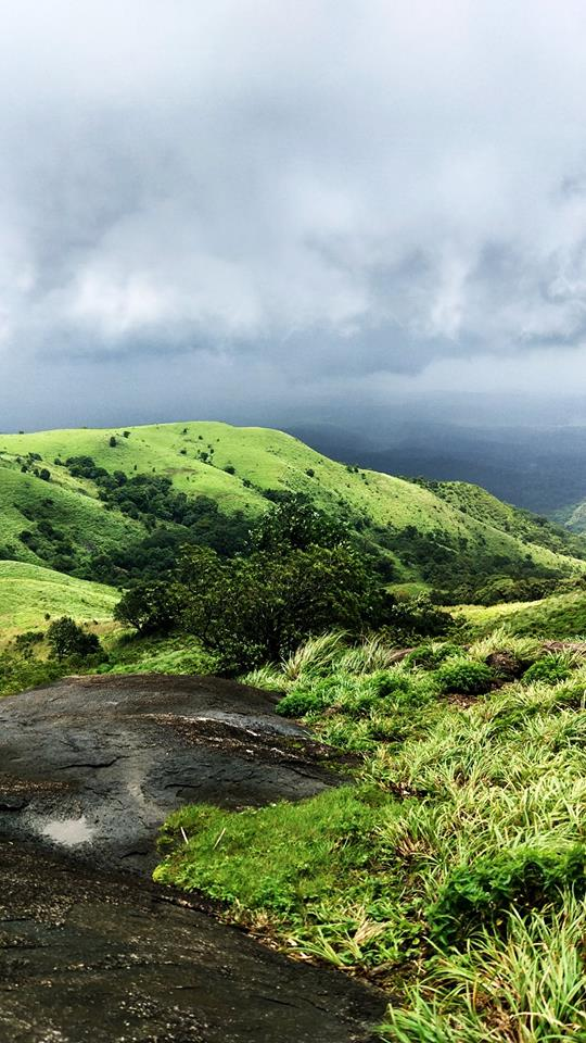 monsoon brahmagiri hills trekking