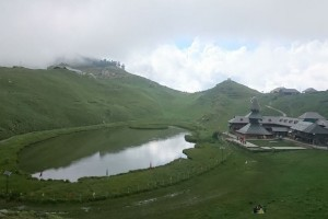 When it  Snows, It is Time to Camp at Prashar Lake