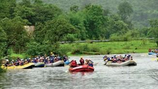 Siliserh Lake Alwar rafting