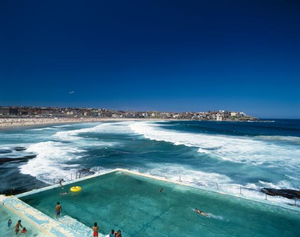 Bondi Beach in Sydney, Australia