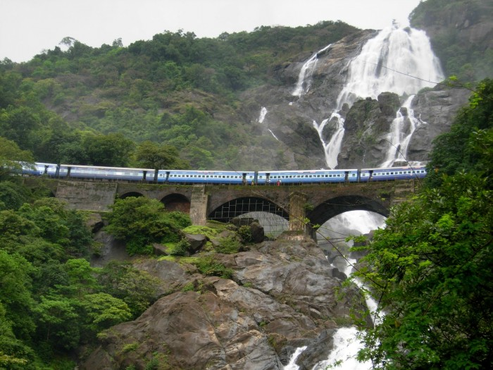Dudhsagar Waterfall 1
