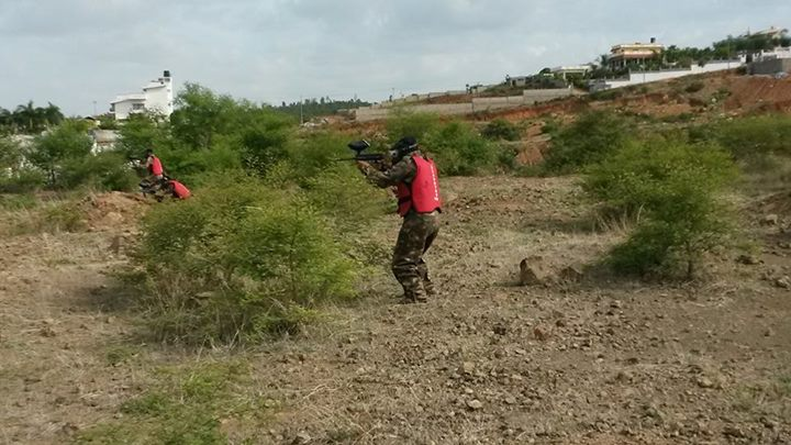 paintball in electronic city