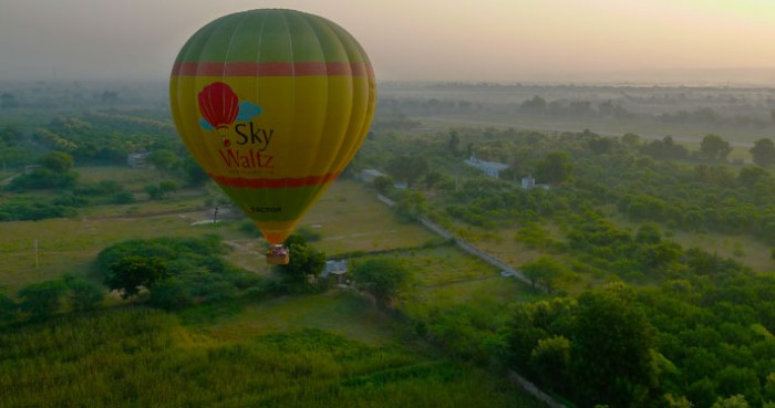 Hot Air Balloon Safari in Lonavala