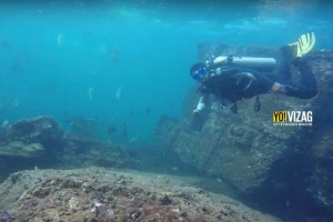 Discover a 200 Year Old Shipwreck Under the Shallows of Vishakapatnam!