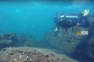 Discover a 200 Year Old Shipwreck Under the Shallows of Vishakapatnam!