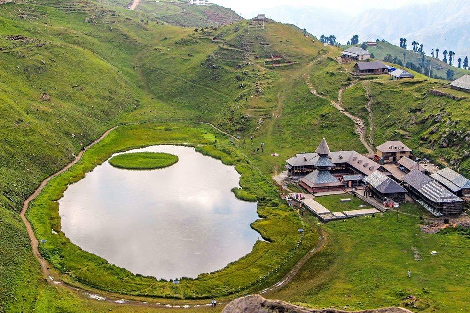 parshar lake top view