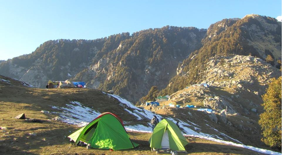 SnowTrek to Triund weekend