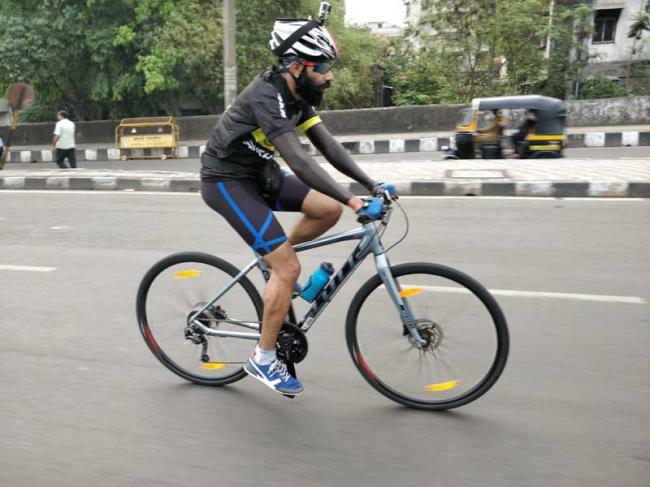 Is cycling the best way to beat Mumbai's rush hour traffic