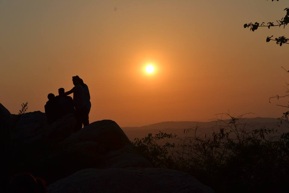 sunrise  at kunti betta