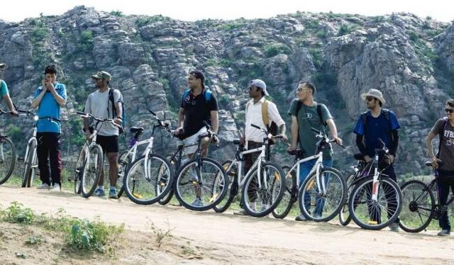 Cycling And Kayaking At Savandurga