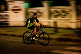 Mumbai Midnight Cycling Coastal Route