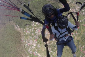 Soar In The Sky, Paraglide In Ranges Of Bir Billing