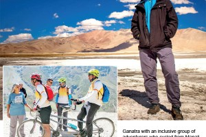This Adventurer Goes Beyond The Barrier Of Disability And Enable Others To Follow Him