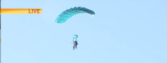 Wally still skydiving at 97 years old