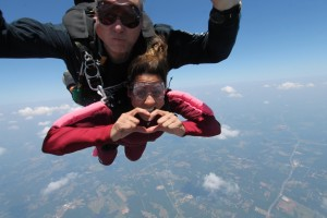 Athens Woman Overcomes Skydiving Fear For Charity