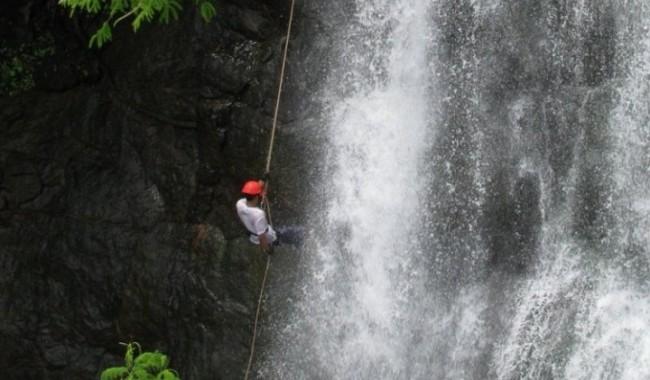 Waterfall Rappelling Dodhani mumbai