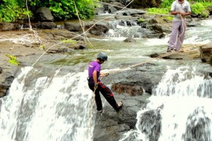 Taste The Waterfalls Around Mumbai By Rappelling It Down!