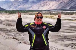 Chandigarh Woman Achieves Her Dream To Leh-Ladakh On Her Scooter