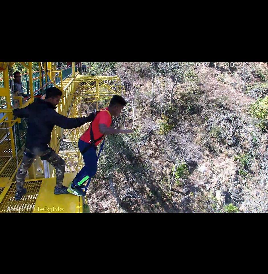 bungee jumping rishikesh s