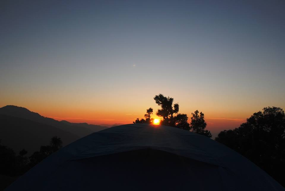 sunset Nag Tibba Trek