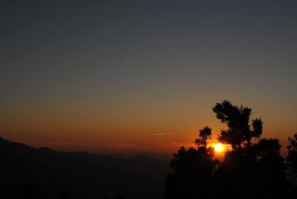 Nag Tibba Trek sunset