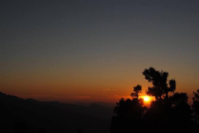 Nag Tibba Trek sunset