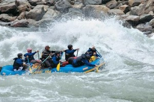 National Level Rafting Competition Kick Starts In Arunachal