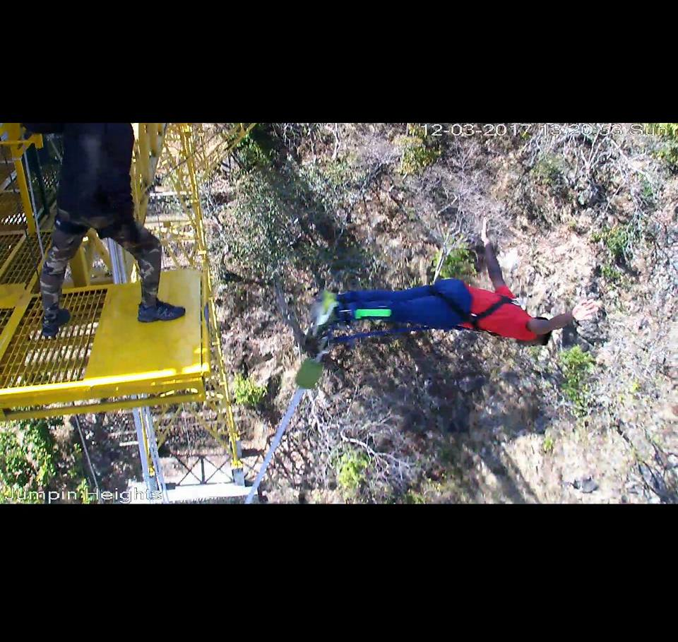 bungee jumping rishikesh y