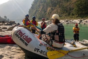 White Water Rafting Experiences In India