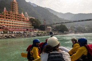 The Four Days White Water Rafting Concludes In Rishikesh