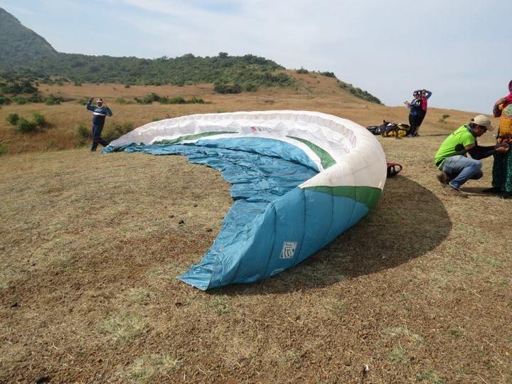 Paragliding-in-Kamshet