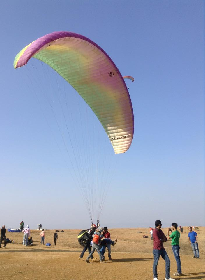 paragliding in pune