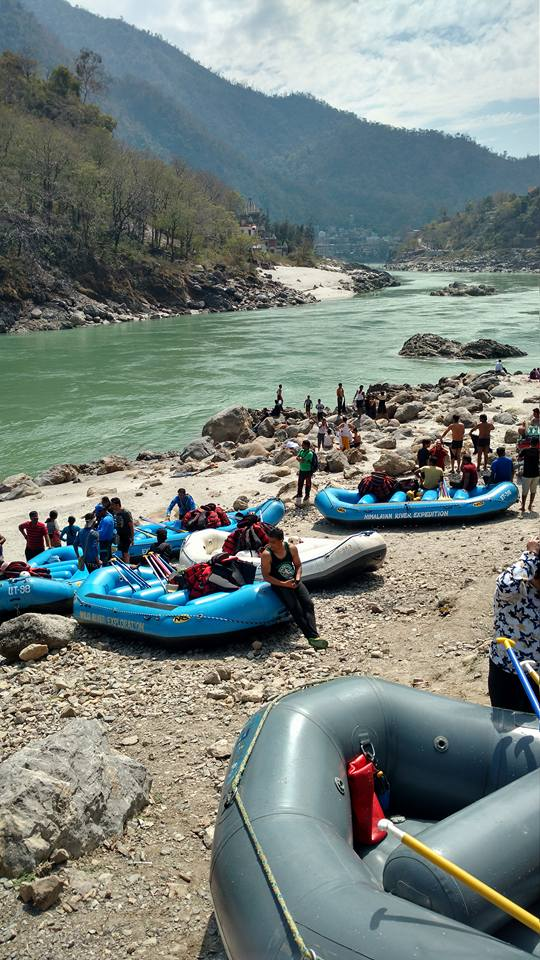 White Water rafting in Rishikesh s