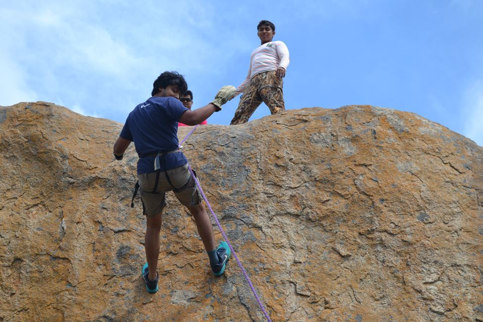 anthargange trek and rappelling 2