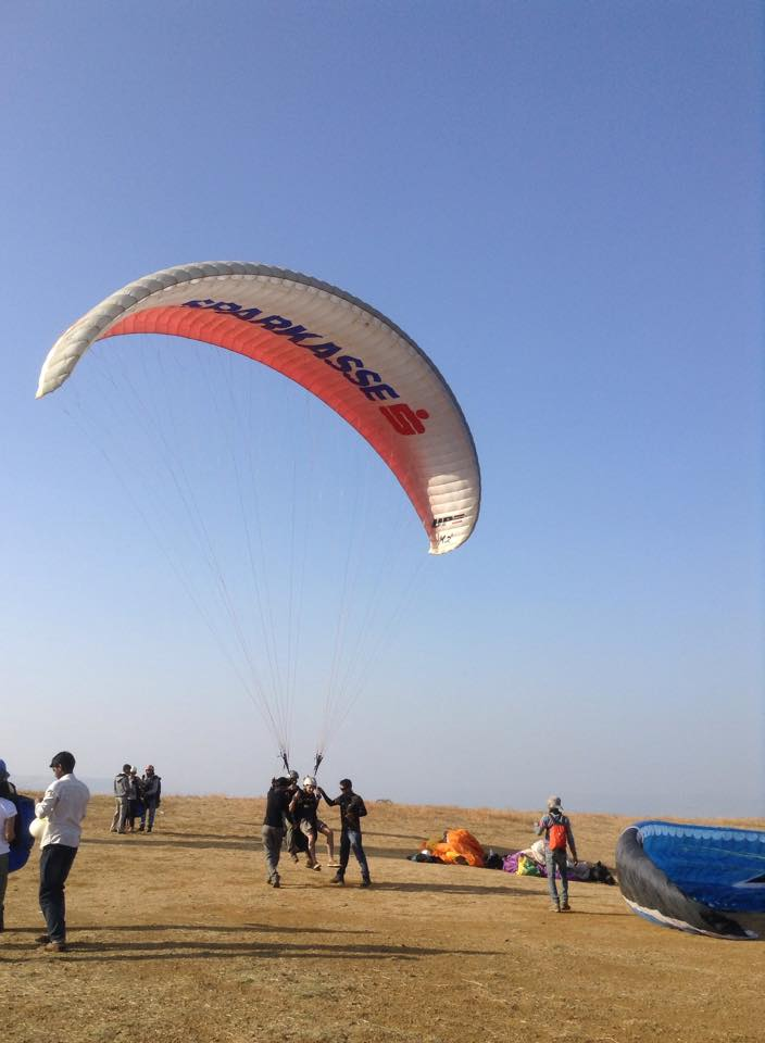 1 Day Paragliding Tour in Kamshet Near Mumbai