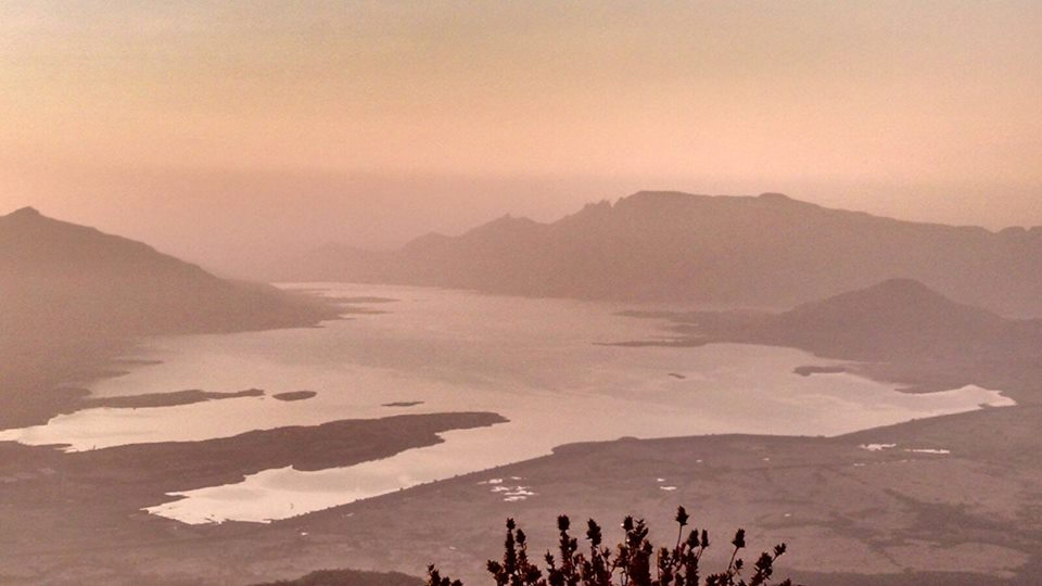 beautiful sunrise at Harishchandragad india