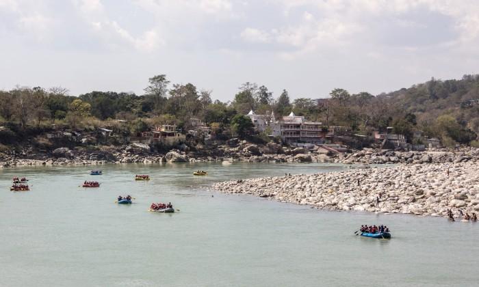 river ride to Rishikesh