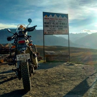 spiti valley Bike Trip Cost