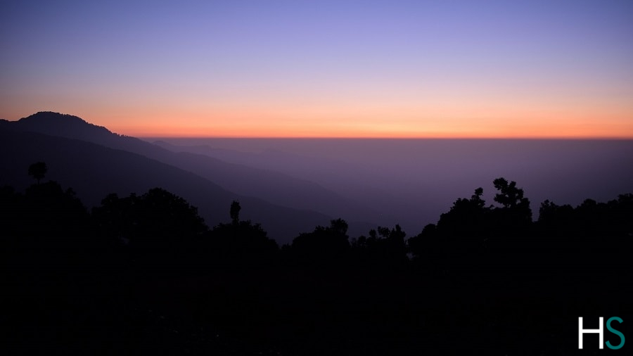 nag-tibba-sunset