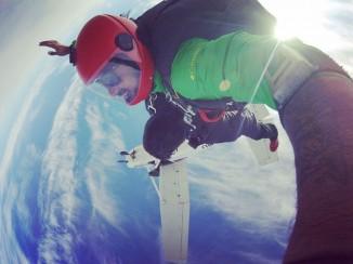 Skydiving in India Air Strip, Narnaul, Haryana