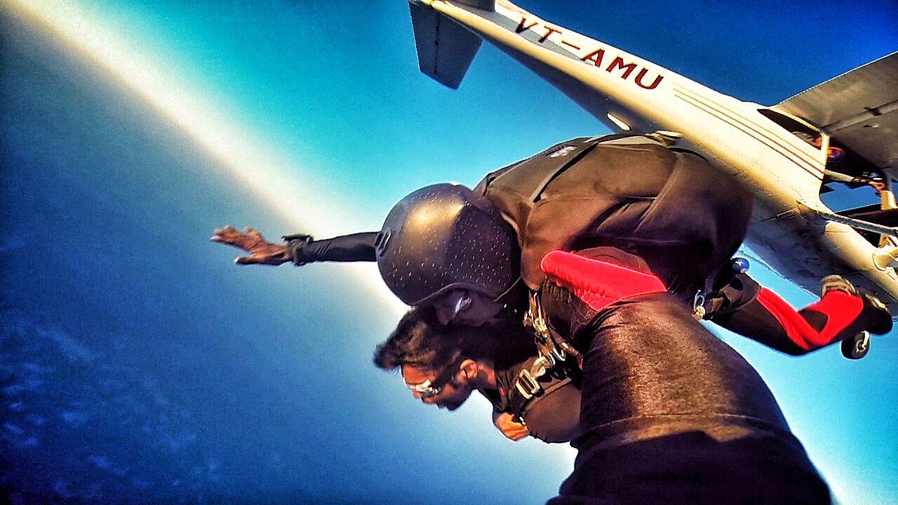 Skyhigh, Skydiving in India Air Strip, Narnaul, Haryana