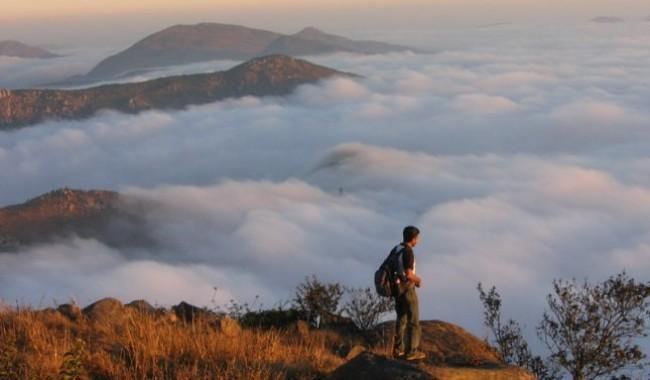 Hiking To Skandagiri
