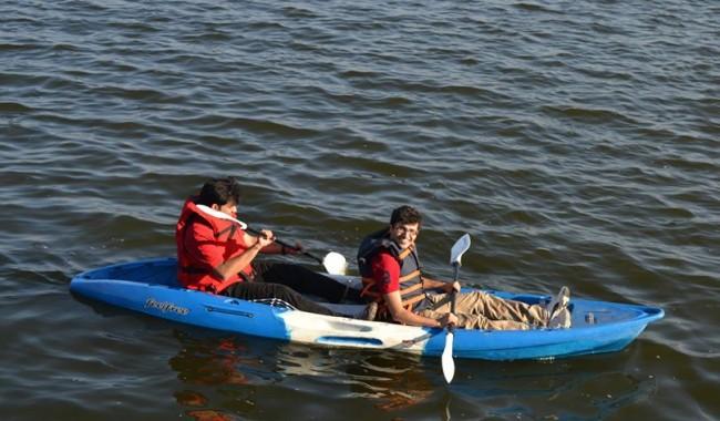 Kayaking at Kunti Betta And Ramanagara