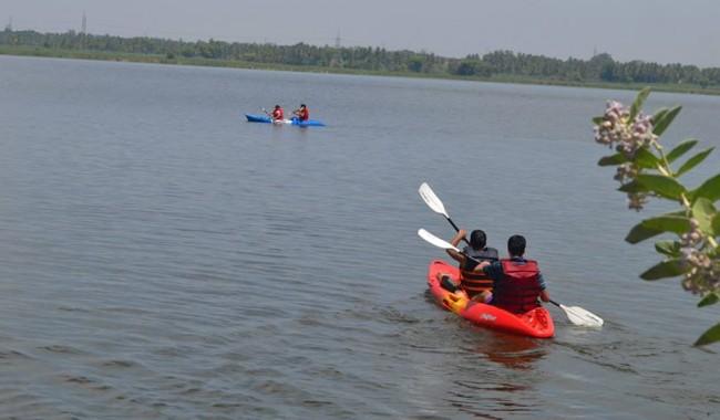 Kayaking at Kunti Betta