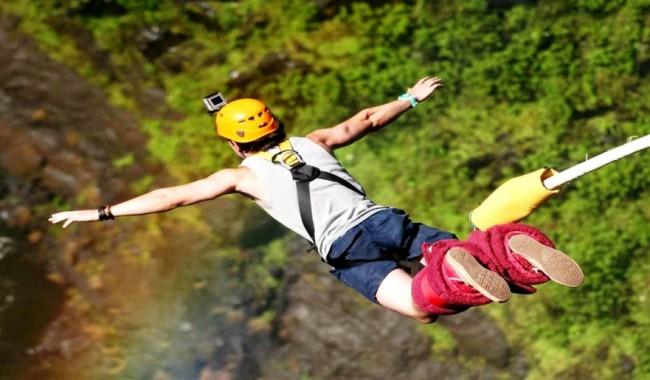 bungee jumping in Uttarakhand
