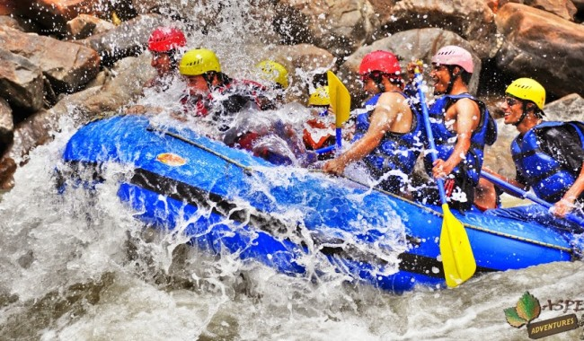White water rafting Rishikesh