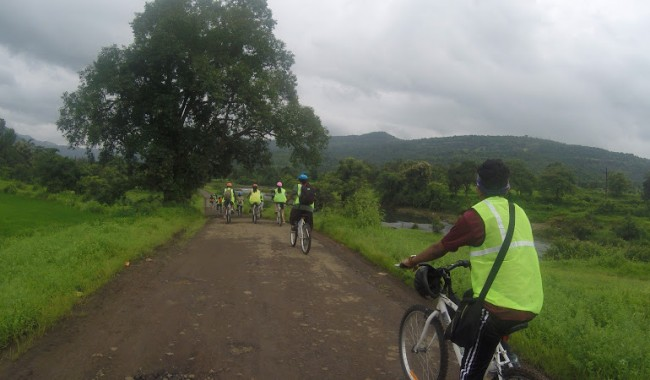 Outdoor Cycle Ride Karjat