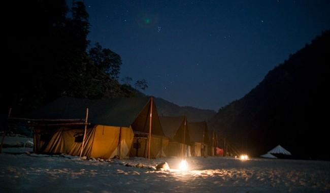 Shivpuri Beach Camp   Night Camping at Rishikesh