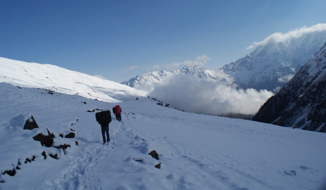 Trek To Rupin Pass