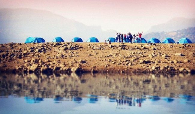 Lake Side Camping at Bhandardara